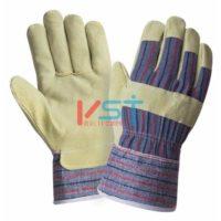 Перчатки 2HANDS спилковые комбинированные 0115 (88PВSA)