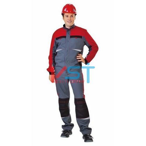 Куртка СПЕЦ 101-0212-02 серый с красным и черным