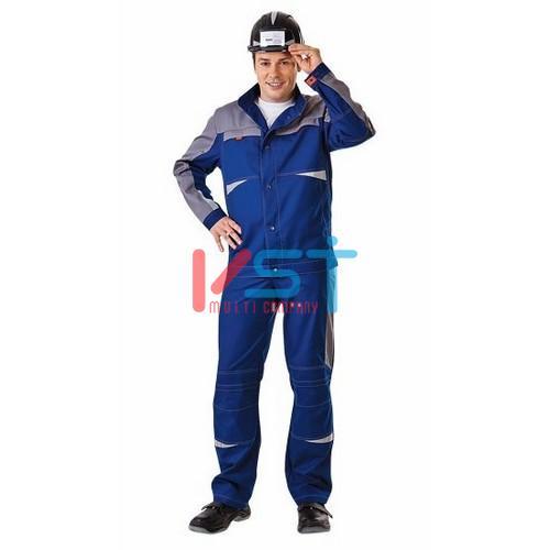Куртка СПЕЦ 101-0212-01 темно-синий с серым