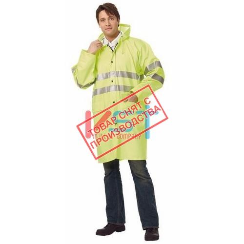 Плащ СИГНАЛ 104-0015-74 флуоресцентный желтый