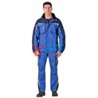 Куртка CERVA АЛЛИН ГОСТ 101-0229-01 голубой с темно-синим