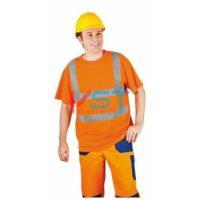 Футболка КВАНТ 104-0023-01 флуоресцентный оранжевый
