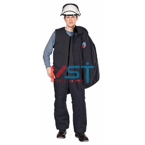 Жилет утепляющий огнестойкий для костюмов ЭЛЕКТРА 113-0046-01 черный