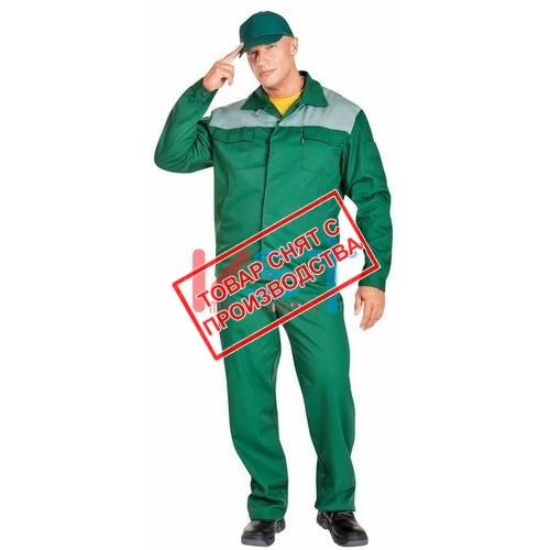 Костюм НОВАТОР 101-0039-05 зеленый