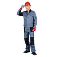 Брюки СПЕЦ-АВАНГАРД рабочие мужские 101-0194-02 серый с черным