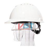 Каска защитная 3M H-700N с храповиком и вентиляцией белая