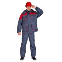 Костюм СПЕЦ утепленный мужской рабочий 103-0034-64