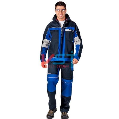 Куртка CERVA СТАНМОРЕ 101-0045-36 темно-синий с васильковым
