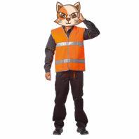 Жилет ГАБАРИТ сигнальный оранжевый повышенной видимости 104-0001-65