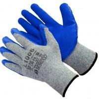 Перчатки L1006 Х/Б с текстурированным латексом (ТОРО)