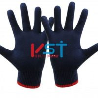 перчатки ХБ 10 класс 4 нити черные без ПВХ