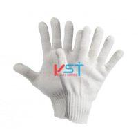 перчатки ХБ 10 класс 5 нитей белые без ПВХ