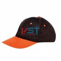 Кепка CERVA ЭМЕРТОН 102-0030-01 серый с оранжевым