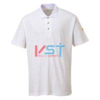 Антистатическая рубашка-поло Portwest AS21 белая