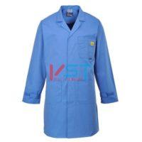 Антистатический халат Portwest AS10 голубой
