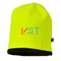 Головной убор двусторонний светоотражающий PORTWEST BEANIE HA14 желтый/черный