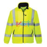 Куртка флисовая светоотражающая PORTWEST F300 желтая