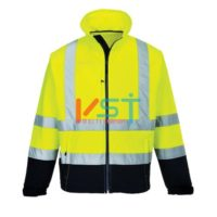 Куртка светоотражающая контрастная из софтшелла (3 сл) PORTWEST S425