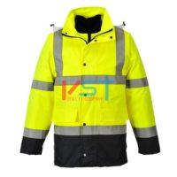 Куртка светооражающая 4 в 1 PORTWEST TRAFFIC CONTRAST S471 желтая