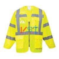 Куртка светооражающая PORTWEST ЭКЗЭКЬЮТИВ S475 желтая