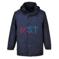 Куртка с флисовой подкладкой PORTWEST ОБАН S523 темно-синяя