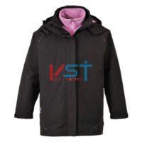 Куртка женская 3 в 1 PORTWEST ЭЛГИН S571 черная
