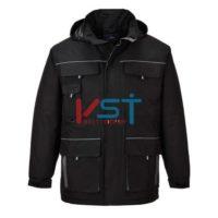 Куртка дождевая контрастная PORTWEST ТЕКСО TX30 черная