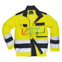Куртка светоотражающая PORTWEST ЛИЛЛЬ TX50 желтая