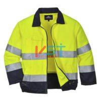 Куртка светоотражающая PORTWEST МАДРИД TX70 желтая