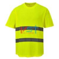 Футболка сетчатая PORTWEST C394 желтая