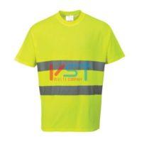 Футболка PORTWEST S172 желтая