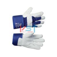 Перчатки ТЕХНОАВИА NAVY (НЭВИ) комбинированные со спилком КРС