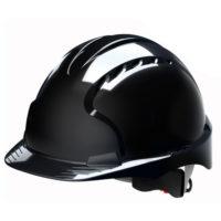 Каска защитная JSP ЭВО 3 AJF170-001-100 с храповиком и вентиляцией черная
