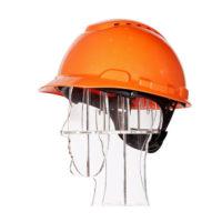 Каска защитная 3M H-700N с храповиком и вентиляцией оранжевая