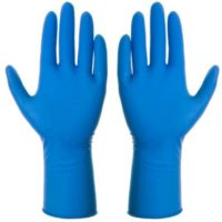 Перчатки латексные Self&Care High Risk