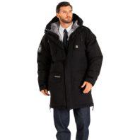 Куртка ТАЙМЫР BASK утепленная черная