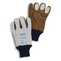 Перчатки TEMPEX из кожи наппа с накладками