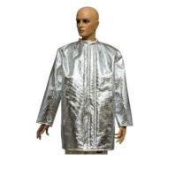 Куртка алюминизированная ALWIT с двойной застежкой (стандарт EN 11612)