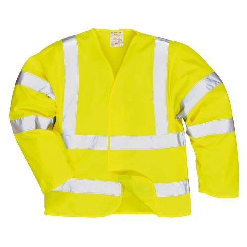 Антистатическая куртка PORTWEST повышенной видимости - Огнестойкая PW-FR85