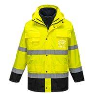Светоотражающая легкая куртка 3-в-1 PORTWEST PW-S162