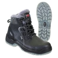 Ботинки СИРИУС PROTECTION-NORD с поликарбонатным подноском ПУ-ТПУ, нат. мех 02690