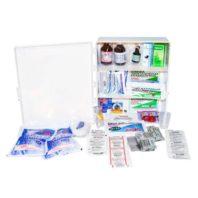 Аптечка АППОЛО промышленная (пластиковый шкаф) 14438