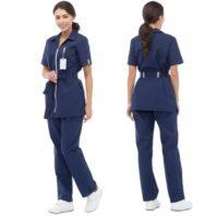 Комплект ФИЕСТА женский (брюки и блуза) темно-синий