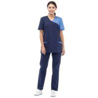 Комплект ВОЛНА женский блуза и брюки 171923