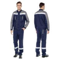 Костюм летний ОПТИМА мужской 050090 (куртка+брюки)