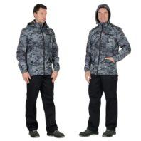 Куртка СИРИУС ВЕКТОР 104597 удлиненная милитари серая