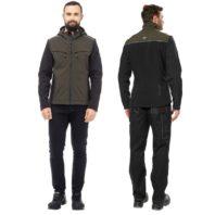 Куртка ТАЙМ хаки софтшелл 171821