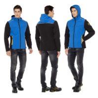 Куртка ТАЙМ синяя софтшелл 171821