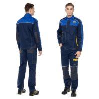 Летний костюм СТАРТ синий мужской 171825