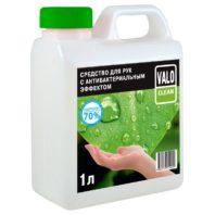 Средство для рук с антибактериальным эффектом VALO CLEAN, 1л